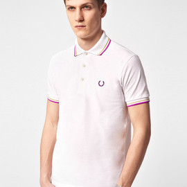 Fred Perry - Laurel Wreath Japanese Twin Tipped Polo Shirt