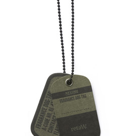 NEXUSVII, retaW - FRAGRANCE DOG TAG - Olive