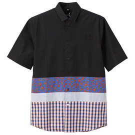 RAF SIMONS / FRED PERRY - RAF SIMONS Short Sleeve Printed Shirt