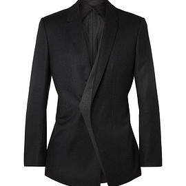 tailor-made Navy suit, Wool