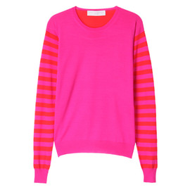 STELLA McCARTNEY  - COLOUR PLAY KNIT PULLOVER