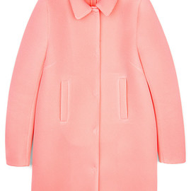 SIMONE ROCHA - Knitted Wafer Mesh Car Coat