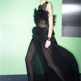 Vionnet - feathers dress  Pre-Spring 2012