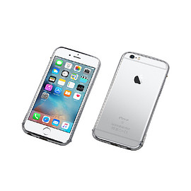 "DEFF - CLEAVE Stainless Bumper for iPhone 6s ""The One"" polish silver"