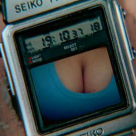 SEIKO - 007 Gadgets - The TV Wristwatch : Octopussy : 007オクトパシー