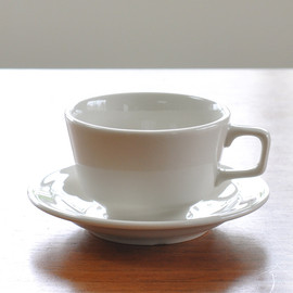 P.F.S. PARTS CENTER, PACIFIC FURNITURE SERVICE - COFFEE CUP, SAUCER