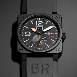 Bell & Ross - BR 03 GMT CARBON