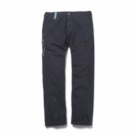 uniform experiment - DAMAGED SIDE ZIP CHINO PANT