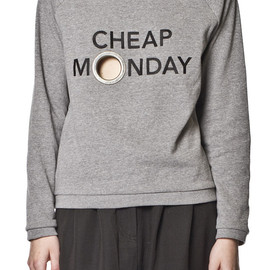 CHEAP MONDAY - Cilla Sweat Grey Mel