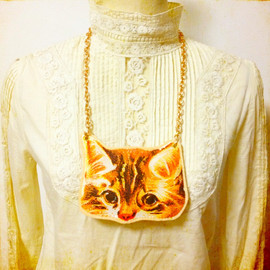 miaulement - Cat Big Necklace