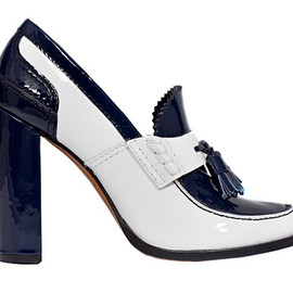 CELINE - Patent leather loafer