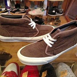 "vans - 「<used>90's vansCHUKKA BOOT taupe check""made in USA"" size:US8(26cm) 13800yen」完売"