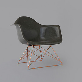 STUSSY Livin' GENERAL STORE - GS Fiberglass Arm Shell Chair by Modernica