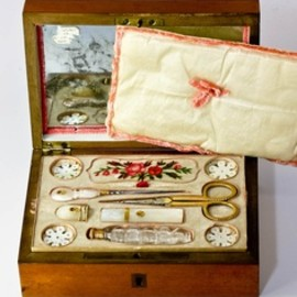 Antique Sewing Set