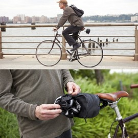 quirky - Courier - bike pack to back pack