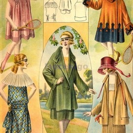 Clothing for girls and teenagers, 1919
