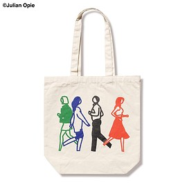SOPHNET. - JULIAN OPIE Runners. TOTE BAG