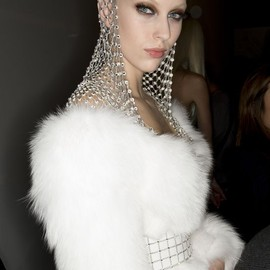 Versace - HEAD DRESS/Versace Haute Couture 2014