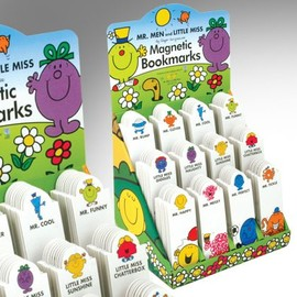 Mr.men and little Miss - Bookmarks