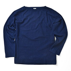 orslow - BOAT NECK CUT & SEWN