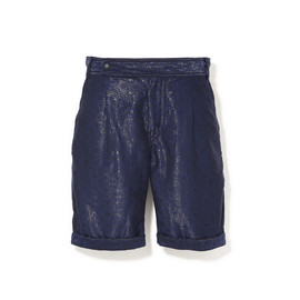 White Mountaineering - T/C WOOD MOSAIC PATTERN JACQUARD [MAN THE SHORTS]