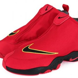 Nike - NIKE AIR ZOOM FLIGHT THE GLOVE UNVERSITY RED/BLACK-DARK GREY-TOUR YELLOW