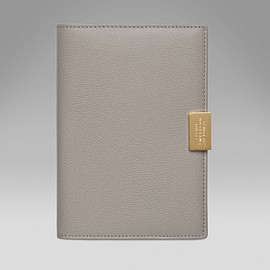 SMYTHSON - Grosvenor collection passport cover with slide