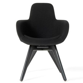 Tom Dixon - Scoop Chair High Back Black Legs Web Image