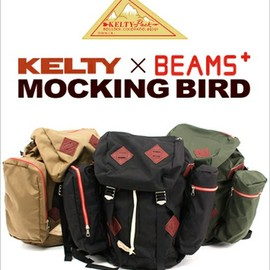 "KELTY - beams-kelty-bespoke-10th-backpack""MOCKING BIRD"""