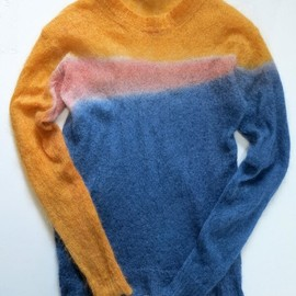 HEADGOONIE - CRAZY DYE MOHAIR KNIT 4