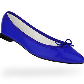 repetto - Cendrillon Ballerina  Patent leather Electro blue