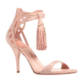 Christian Dior - Micro studded sandals with tassel