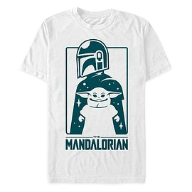 Disney - The Mandalorian and the Child T-Shirt for Men – Star Wars: The Mandalorian