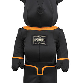 MEDICOM TOY - PORTER × BE@RBRICK 400% TANKER BLACK Special Edition