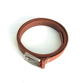 DIGAWEL - DIGAWEL | LEATHER BELT(BROWN)