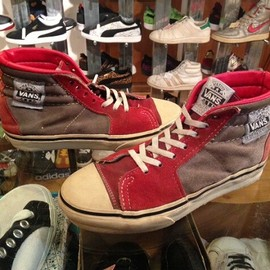 "vans - 「<used>1980s vans NATIVE AMERICAN red/beige""made in USA"" size:US5/h?(OUTSOLE25cm) 8500yen」販売中"