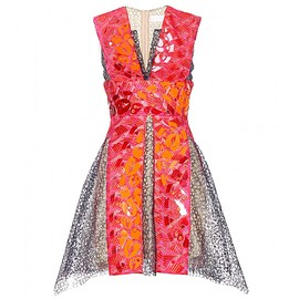 Peter Pilotto - SS2015 Phoenica embellished lace dress