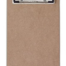 Saunders - Recycled Hardboard Clipboard with Low Profile Clip, 5.75 inch x 9.5 inch