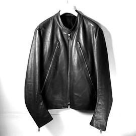 Maison Martin Margiela - Maison Martin Margiela 5 zip calf Leather Jacket