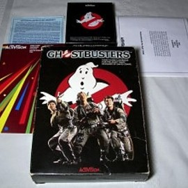 Atari - Ghost Busters Atari Video Game