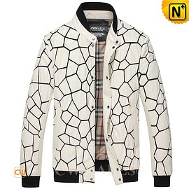 CWMALLS - CWMALLS® White Quilted Leather Jacket CW806056