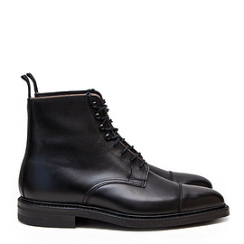 CROCKETT&JONES - クロケット&ジョーンズ | NORTHCOTE (BLACK WAX CALF) 007 SPECTRE MODEL