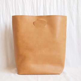 Hender Scheme - not eco bag big #camel
