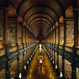 Trinity College Library, Dublin (by alcott1)