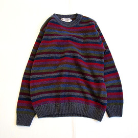 NOR' EASTERLY - Multi Stripe Crew