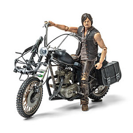 ThinkGeek - Walking Dead Daryl Dixon on Motorcycle Figure