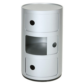 Kartell - Componibili 3STEPS Silver