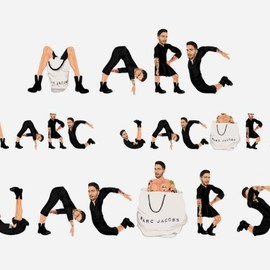 mike frederiqo - Marc Jacobs logos