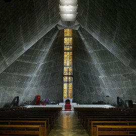 Kenzo Tange - St Mary Cathedral, Tokyo