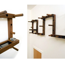 William Ullman - Thru-Block Coat Rack